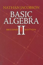 Page 1 NATHAN JACOBSON BASIC ALGEBRA SSSSSS | ÉDITIDN ...