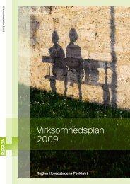 Virksomhedsplan 2009 - Region Hovedstadens Psykiatri