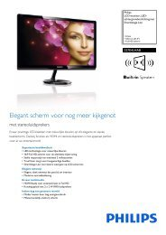227E4LHAB/00 Philips LCD-monitor, LED-achtergrondverlichting ...