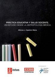práctica educativa y salud docente. un estudio desde - CCOO