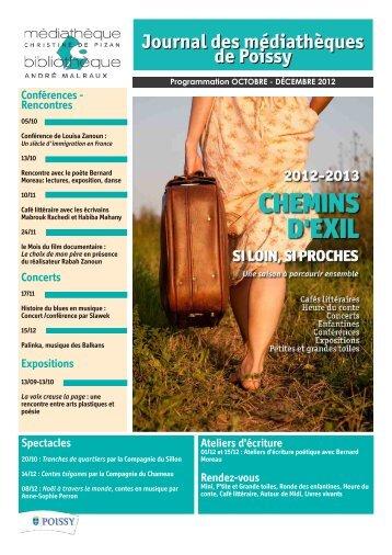 Journal des médiathèques de Poissy - Génériques