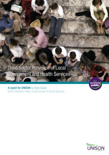 Davies - Third Sector Provision of Local Government and Health Services - 2007