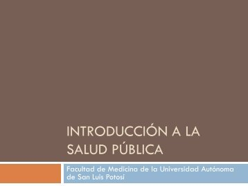 Salud - eVirtual UASLP - Universidad Autónoma de San Luis Potosí