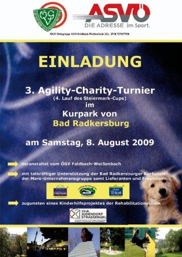 Einladung Bad Radkersburg 080809.pdf - Agility Arbeitsgruppe ...