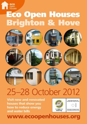 2012 brochure - Eco Open Houses