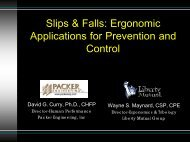 What To Do About Slips and Falls!