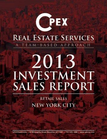 Retail Sales - CPEX Real Estate