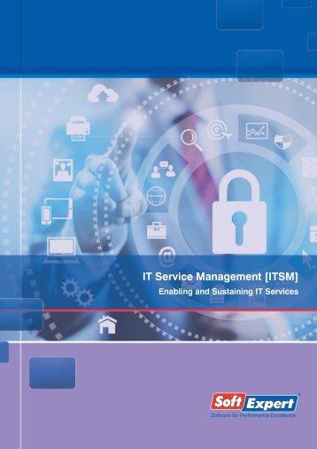 IT Service Management [ITSM] - SoftExpert Software
