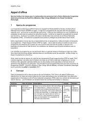 Appel d'offres - mediacongo.net