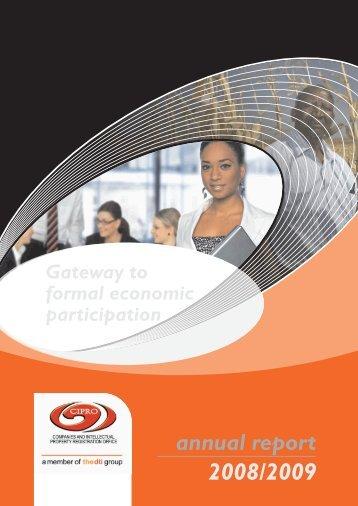 2008 - 2009 Annual Report - CIPC