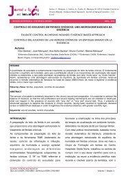 controlo do exsudado em feridas crónicas - AAGI-ID Associação ...