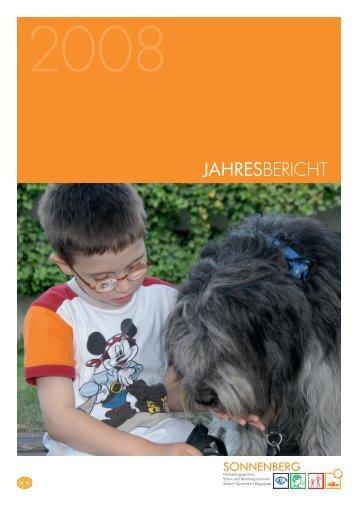JAHRESBERICHT - SONNENBERG