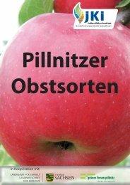 Pillnitzer Obstsortenbroschüre - Julius Kühn-Institut