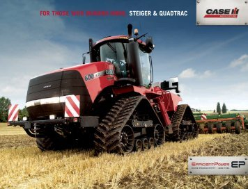 Download Steiger & Quadtrac Brochure - Case IH