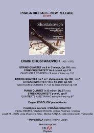 STRING QUARTET no.8 in C minor, Op.110 - Pragadigitals