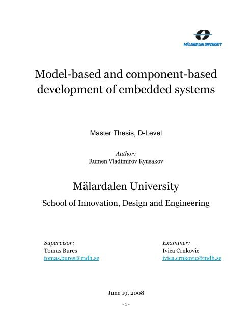 idt mdh thesis
