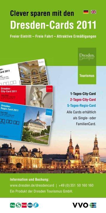 Clever sparen mit den Dresden-Cards 2011 - Dresden Marathon