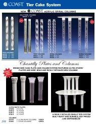 Chantilly Plates and Columns - Pfeil & Holing