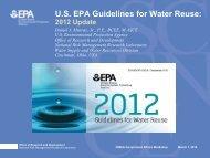 U.S. EPA Guidelines for Water Reuse:
