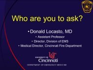 Dr. Donald Locasto - Who Are You To Ask? - Gathering of Eagles