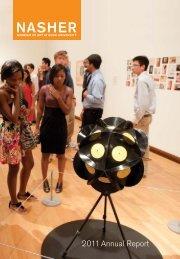 2011 Annual Report - Nasher Museum of Art - Duke University
