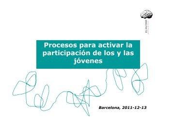 Procesos para activar la participación de los y las jóvenes - Surt
