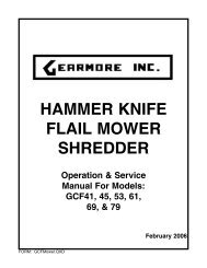 gcf drive assembly gcf41-61 - Gearmore, Inc.