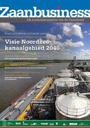 Visie Noordzee- kanaalgebied 2040 - Zaanbusiness