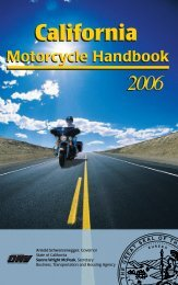 California Motorcycle Handbook - Antevia