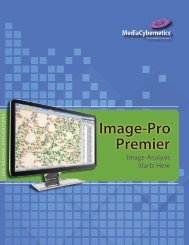 Image-Pro® Premier - I-cube Image Analysis and Processing
