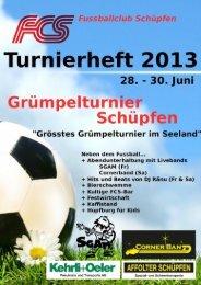 Spielplan/Gruppeneinteilung, pdf, 3MB - Grümpelturnier 2013 - FC ...