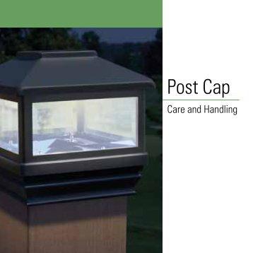 Post Cap - Home Depot