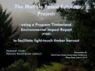 PTEIR - Purpose, practices, and pitfalls - Sonoma Land Trust