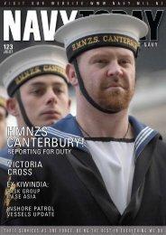 CANTERBURY! HMNZS - Royal New Zealand Navy