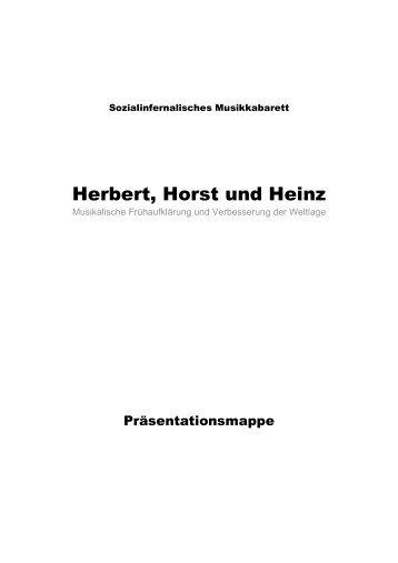 Herbert, Horst und Heinz erklären Wagner