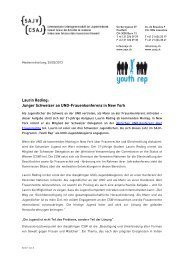 Junger Schweizer an UNO-Frauenkonferenz , 105.9 KB - SAJV