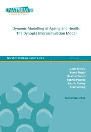 Dynamic Modelling of Ageing and Health: The Dynopta ...