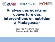 Analyse des ecarts en couverture des interventions en ... - basics