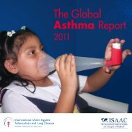 The Global Asthma Report - Global Asthma Network