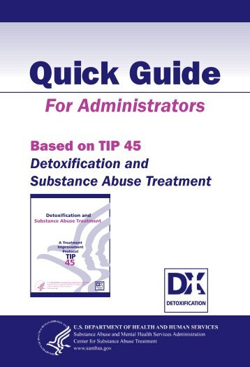 Detoxification and Substance Abuse Treatment - SAMHSA Store ...
