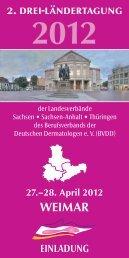 Weimar 2. drei-ländertagung