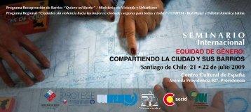 SEMINARIO Internacional - Red Mujer y Hábitat de América Latina