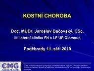 doc. MUDr. Jaroslav Bačovský, CSc. - Nadační fond Česká ...