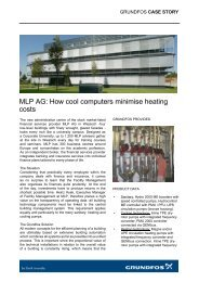 MLP AG: How cool computers minimise heating costs