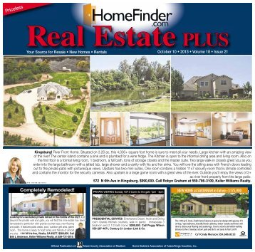 Real Estate PLUS - Visalia Times-Delta