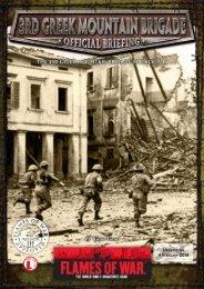 Greek Mountain Infantry Company 1944 (PDF)... - Flames of War