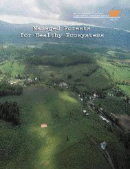 Managed Forests for Healthy Ecosystems.pdf - College of Natural ...