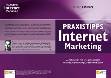 Praxistipps Internet Marketing