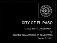 Elpasotexas Gov - Home - City of El Paso