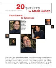 20 Questions for Mark Cuban - Bloom Magazine